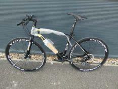 Black and yellow Extreme town bike