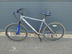 Cross blue and grey gents mountain bike