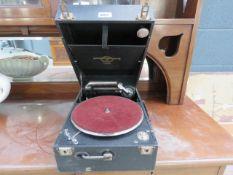 Columbia wind up gramophone