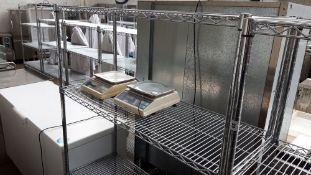 120cm stainless steel 4 tier pot rack