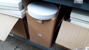 Box of 9'' round boxes