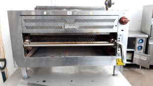 90cm gas Wolf salamander type grill on stand