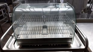 TN68 - 58cm Buffalo CK916 counter top food display warmer