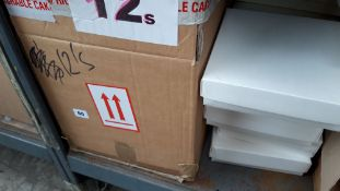 Box of 8'' square cake boxes