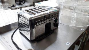 TN67 - Burco 4 slice toaster