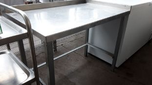 108cm stainless steel preparation table