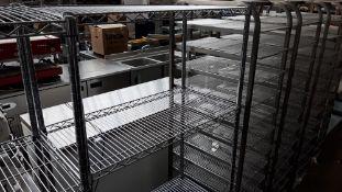 90cm stainless steel 4 tier pot rack