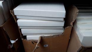A box of 12'' square cake boxes