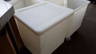 Large mobile ingredients bin, 55cm x 60cm