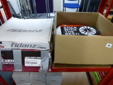 Two shelves of Exedy, Fidanza and Action Clutch clutch kits
