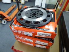 Three Action Clutch fly wheels