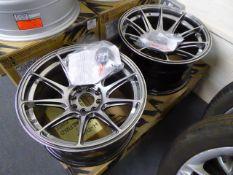 Two XXR 16'' alloy wheels