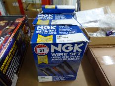 Three NGK wire sets