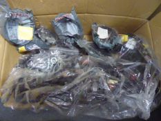 Box of assorted Honda genuine parts to include electrics and other