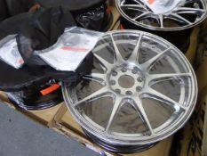 Set of four XXR 17'' alloy wheels
