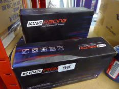 Approximately twelve boxes of assorted King Racing bearings