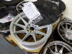 Set of four XXR 16'' alloy wheels