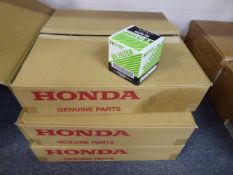 Three boxes of HAMP Synergy oil filters