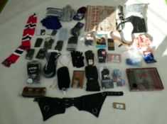 Selection of accessories to include gloves, scarfs, etc
