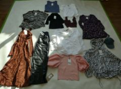 Selection of Zara clothing to include dresses, tops, jacket, etc (sizes on 2nd photo)