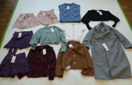 Selection of Zara clothing to include jackets, skirts, jumpers, etc (sizes on 2nd photo)