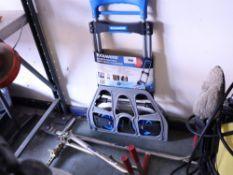 Toolmaster folding aluminium hand truck