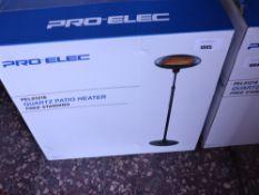 Boxed Pro Elec PELO1218 quartz patio heater