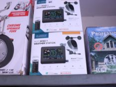 2 boxed La Crosse wifi wind and weather stations