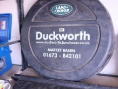 Land Rover Discovery wheel cover and boot cover