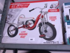 Boxed Lil' Sting-Ray by Schwinn Super Deluxe tricycle
