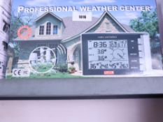 Boxed Professional weather centre