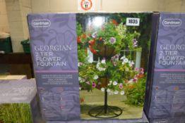 Boxed Gardman Georgian 2 tier flower fountain
