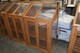 2 door wooden cold frame