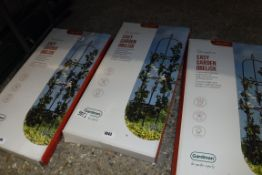Boxed 1.9m (76'') decorative easy garden obelisk