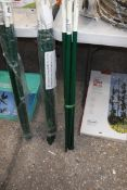 Bundle of 5 Blooma net and fence stakes (1m tall)
