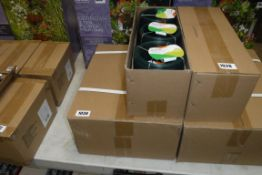 2 boxes containing 18 packs of heavy duty garden wire