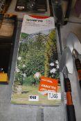 Boxed Verve garden arch