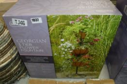 Boxed Gardman Georgian 3 tier flower fountain