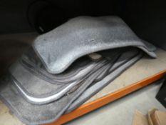 Quantity of assorted mats