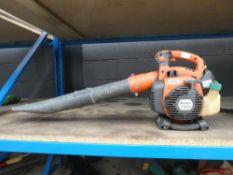 Husqvarana petrol powered leaf blower