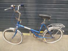 Vintage Kingpin blue ladies bike