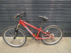 Red Apollo childs bike
