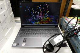 Lenovo Yoga Slim 7 laptop model 1511LO5. Inter i5 10th generation processor, 8GB RAM, 256GB storage,