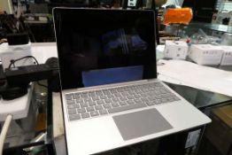 Microsoft surface laptop go. Core i5 10th generation processor, 8GB RAM, 256GB storage, complete