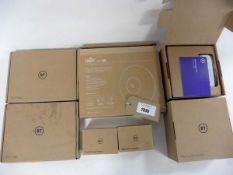 2 BT Wi-Fi Discs, Unifi AP AC Pro wifi disc, 2 BT mini connector kits & 2 BT digital voice adapters