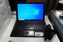 Lenovo Miix 510-121KB Windows tablet with attachable keyboard. Intel i5 7th generation CPU, 8GB RAM,