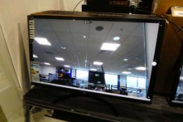 LG monitor 32inch with stand, power supply and box