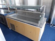 180cm mobile refrigerated salad bar