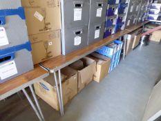 11x 6ft rectangular folding trestle tables