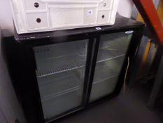 90cm Prodis under counter glazed display fridge